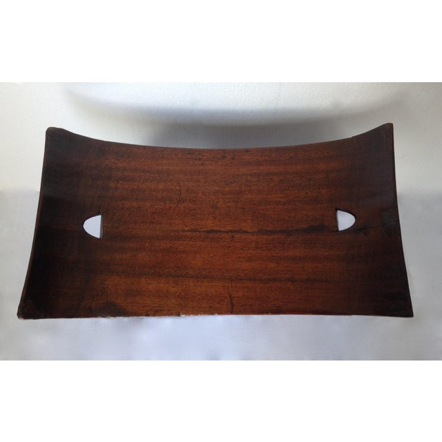 1920s Vintage African Ghana Elephant Ashanti Bench For Sale - Image 10 of 11