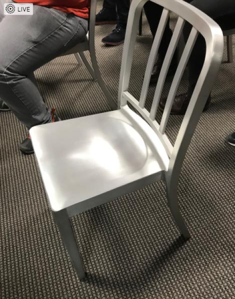 Phillipe Starck Emeco Aluminum Navy Chair   Image 9 Of 10