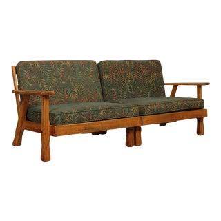 Brandt Ranch Oak 2 Piece Sectional Sofa For Sale