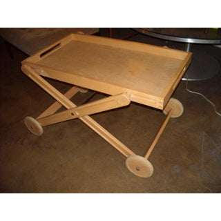 Rare and Easy Bar and Tea Trolley Cart by Nissen Denmark Preview