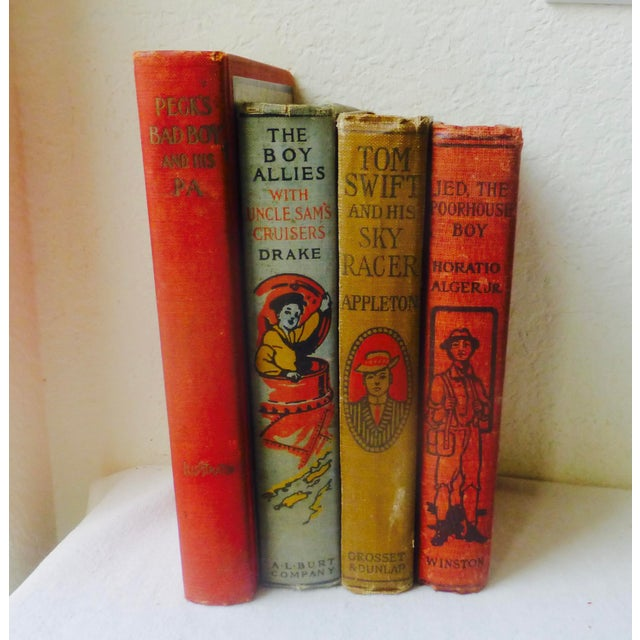 Collection of Antique Boys' Books - Set of 4 - Image 6 of 10