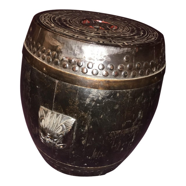 Antique Chinese Rice Barrel For Sale