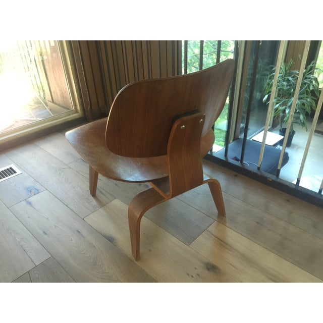 Eames Eames LCW 1948 Evans Production Chair For Sale - Image 4 of 4