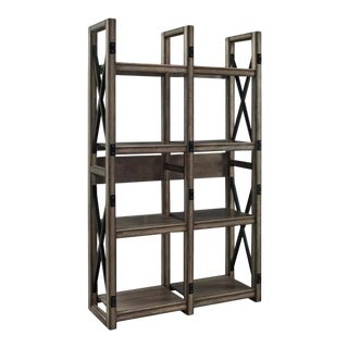 Rustic Room Divider Bookcase