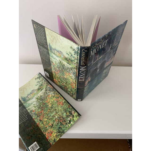 """Paper """"Essential Monet"""" Coffee Table Book For Sale - Image 7 of 9"""