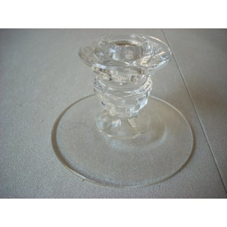 American Fostoria Glass Candleholders - a Pair Preview