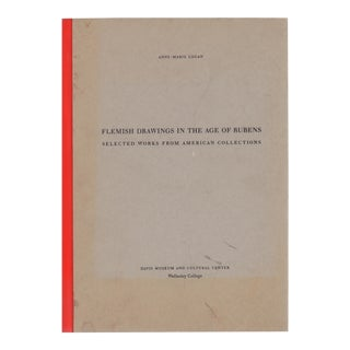 """1993 """"Flemish Drawings in the Age of Rubens"""" Coffee Table Book For Sale"""