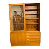 Image of Danish Modern Teak Hutch by Poul Hundevad For Sale