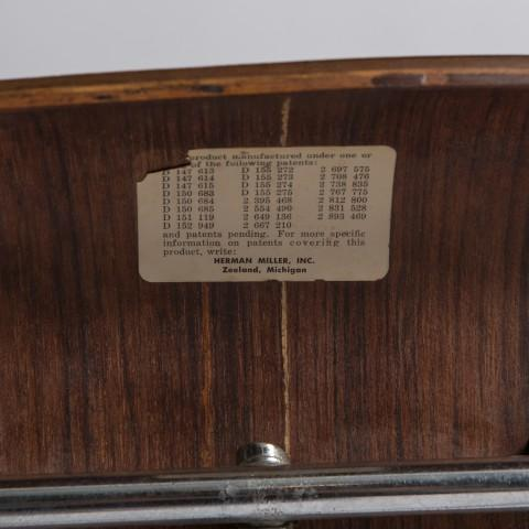 Vintage Rosewood DCM, Herman Miller Charles Eames For Sale In New York - Image 6 of 6