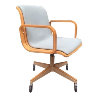 1980s Vintage Bill Stephens for Knoll Operational Swivel Chair For Sale