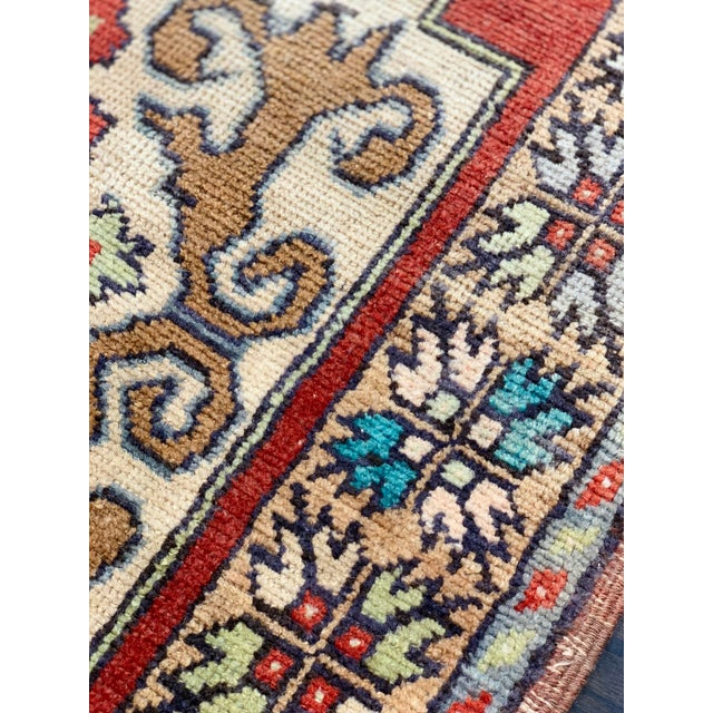 Red 1960s Vintage Anatolian Runner Rug - 3′1″ × 8′6″ For Sale - Image 8 of 13