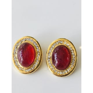 Vintage Henry of France French Clip Earrings Preview