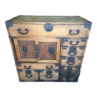 Antique Japanese Tansu For Sale