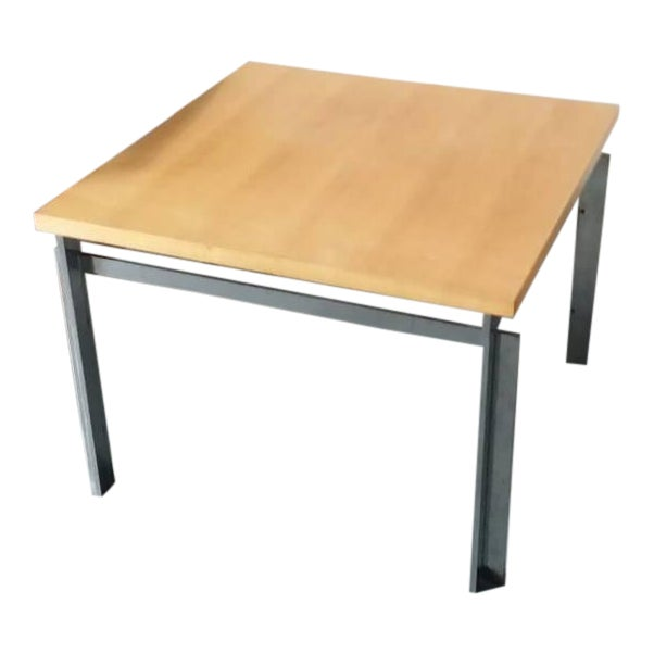 "Rare Poul Kjaerholm Pk55 ""Variant"" Table For Sale"