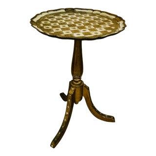 20th Century Art Nouveau Florentine Table For Sale