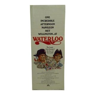 "1970 Vintage Movie Poster of ""Waterloo"" For Sale"