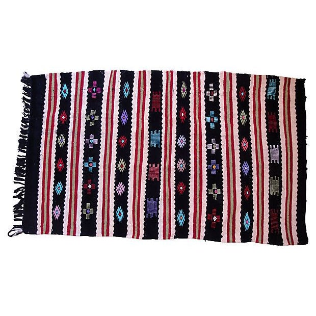 Berber Flat Weave Rug 3 X 4 11 Quot Chairish