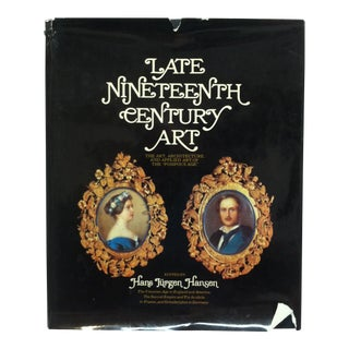 """1970 """"Late Nineteenth Century Art"""" Coffee Table Display Book For Sale"""