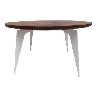 Danish Design Solid Walnut Wood Coffee Table For Sale