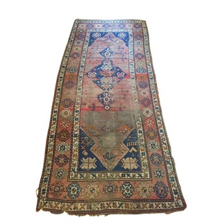 1920s Antique Persian Runner Rug - 4′ × 9′3″ For Sale