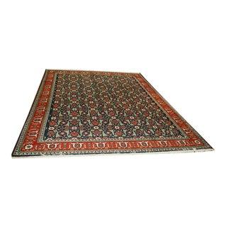Decorative Caucasian Perpedil Design Persian Tabrize Rug - 8′ × 11′ For Sale