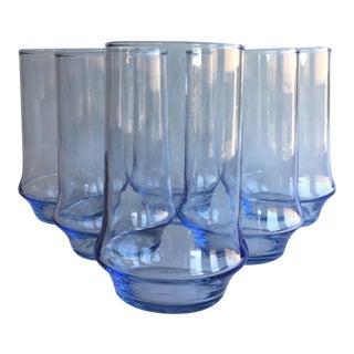 Azure Impromptu Beverage Glass - Set of 6 For Sale