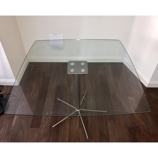 Square Glass Dining Table - Image 6 of 10