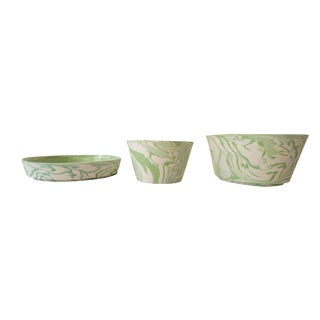 Stackable Serving Bowls - Set of 3 For Sale