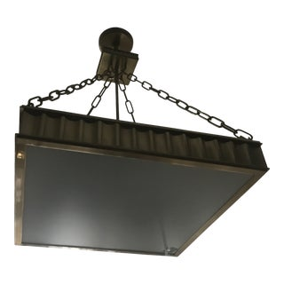 Middlebury Aged Brass Square Light For Sale