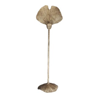 Ginko Gold Floor Lamp by Christine Rouviere For Sale