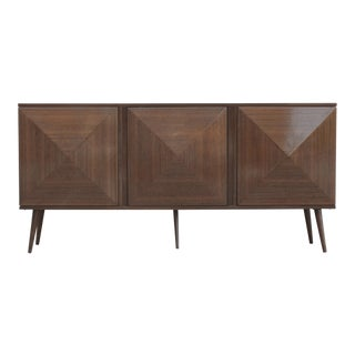 1960's Mid Century Walnut Sideboard For Sale