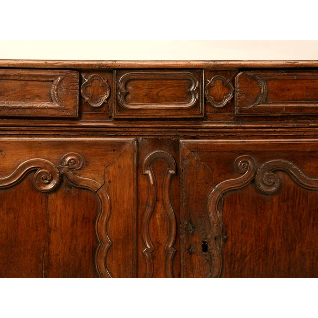 Early 18th Century Early 18th C. French Louis XV Buffet For Sale - Image 5 of 11