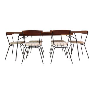 1950s Clifford Pascoe for Modernmasters Dining Chairs and Table - Set of 6 For Sale