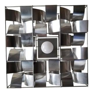 Max Sauze Aluminum Flushmount Ceiling Lamp