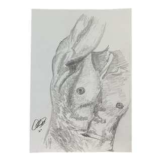 Man III by Alex Baker Drawing For Sale