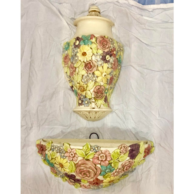 Bought from an estate on Palm Beach Island that was full of colorful decor in pinks and pastels. This piece is sure to add...