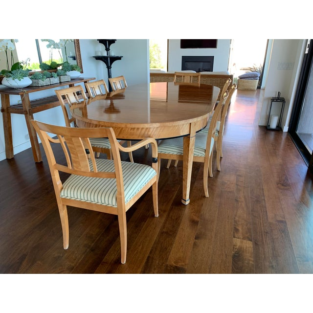 Biedermeier Style Extendable Dining Set For Sale - Image 10 of 10