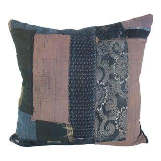 Antique Boro Textile Pillow For Sale