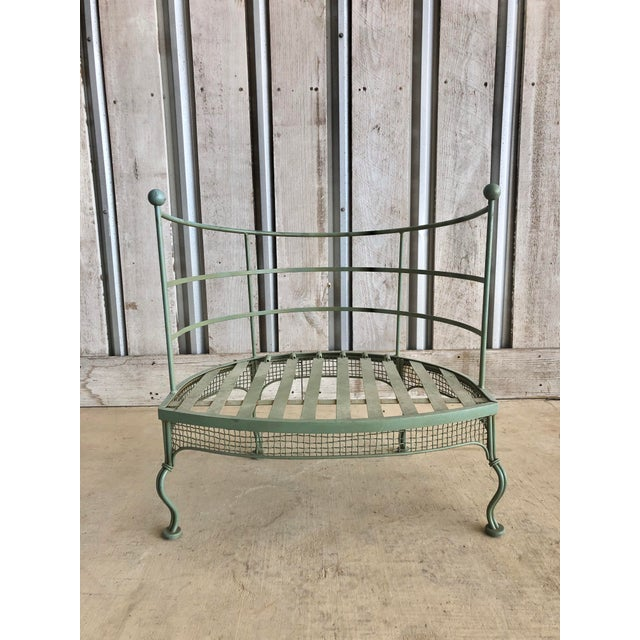 Midcentury Garden Chair by Woodard For Sale - Image 6 of 6