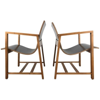 "Rare ""Kleinhans"" Chairs Circa 1939 Charles Eames/Eero Saarinen - a Pair For Sale"