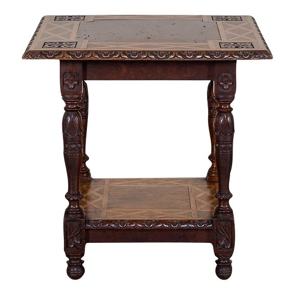19th Century Antique English Arts and Crafts Oak Table For Sale - Excellent 19th Century Antique English Arts And Crafts Oak Table