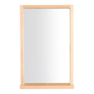 Minimalist Maple Mirror Shelf For Sale