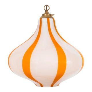 Massimo Vignelli Hanging Glass Pendant Lamp