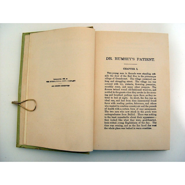 1896 Dr. Rumsey's Patient Book - Image 5 of 5