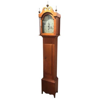 C1818 Riley Whiting Pine Tall Clock