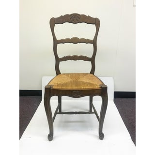 Early 20th Century French Rush Seat Chairs- Set of 6 Preview