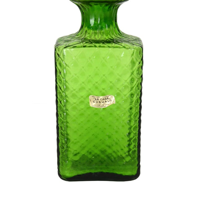 Vintage Italian Quilted Cocktail Decanter - Image 2 of 4