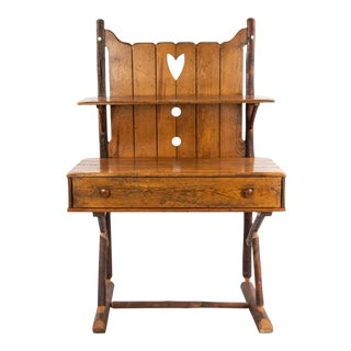 Early 20th Century Rustic Old Hickory Hutch For Sale