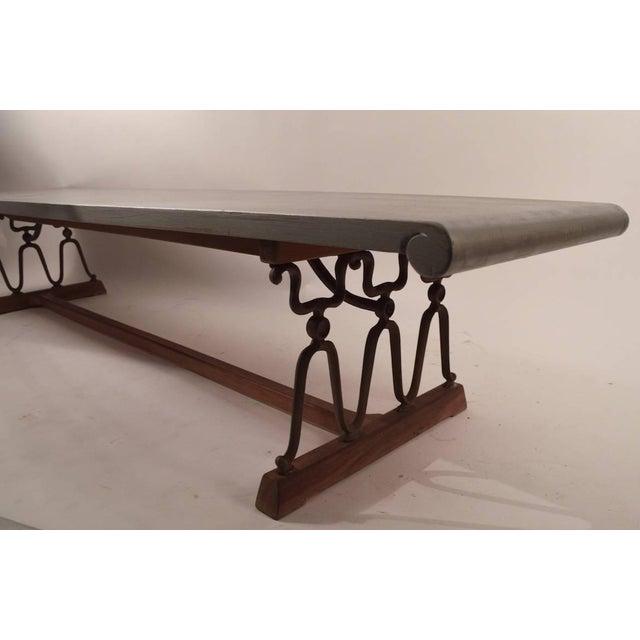 """John Van Koert John Van Koert for Drexel """"Casa Del Sol"""" Bench Coffee Table For Sale - Image 4 of 10"""