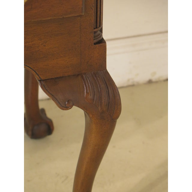Kittinger Kittinger Old Dominion Collection Mahogany Highboy For Sale - Image 4 of 12